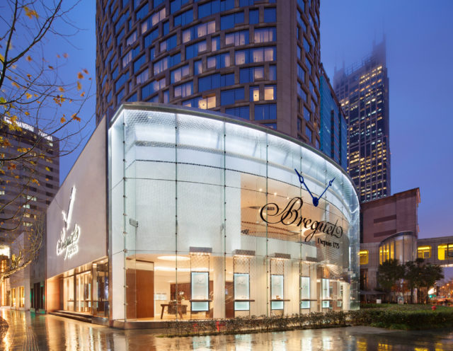 Breguet-Boutique in Shanghai