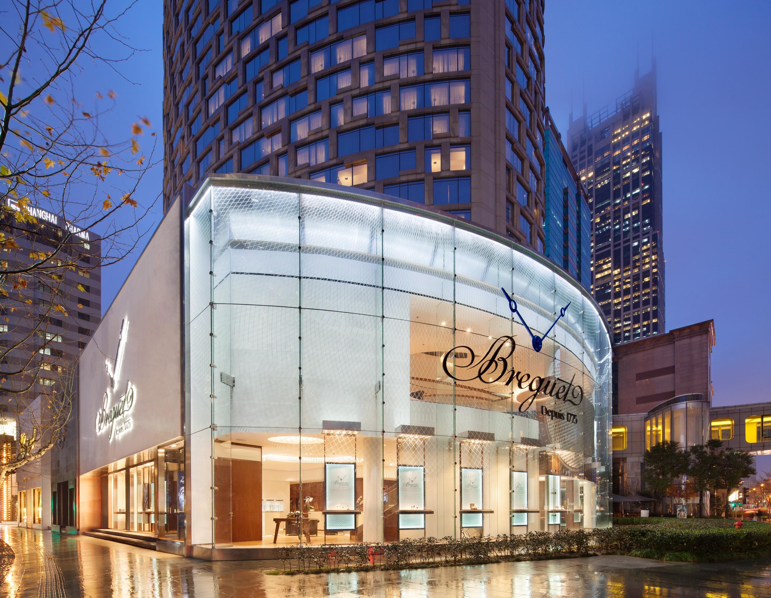 Breguet-Boutique in Shanghai