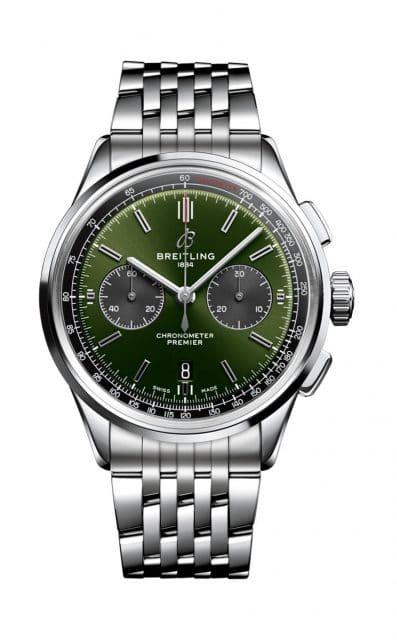 Breitling: Premier B01 Chronograph 42 Bentley British Racing Green