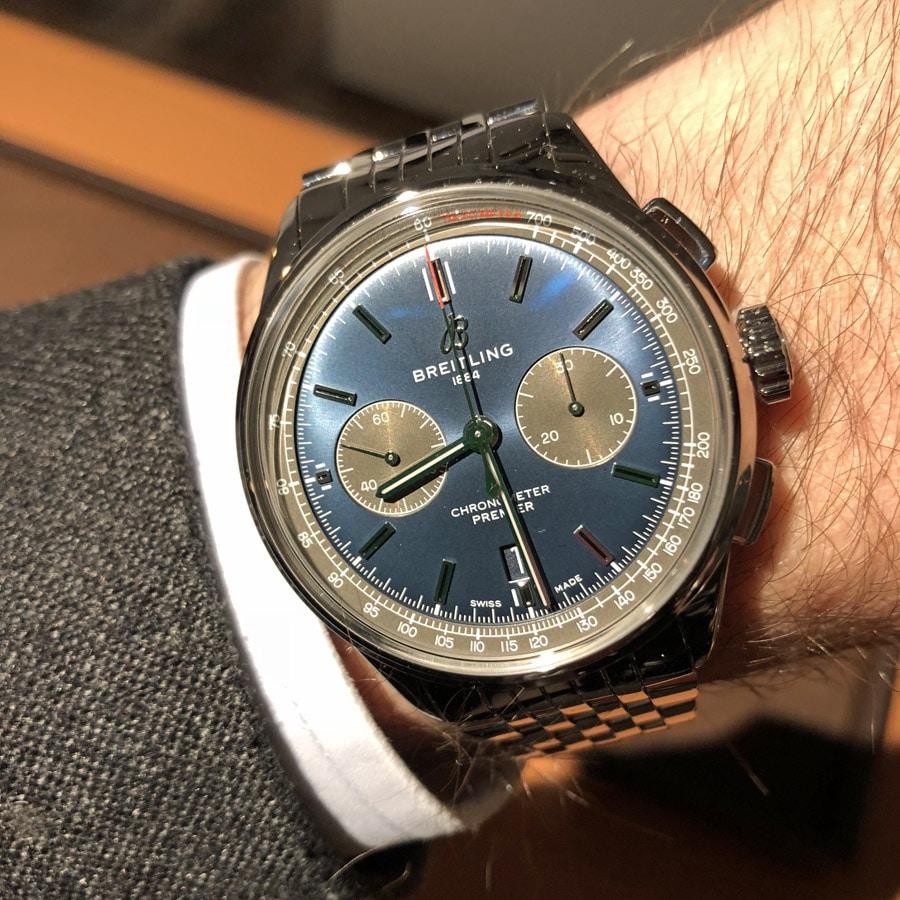 Breitling Premier B01 Chronograph 42 Wristshot