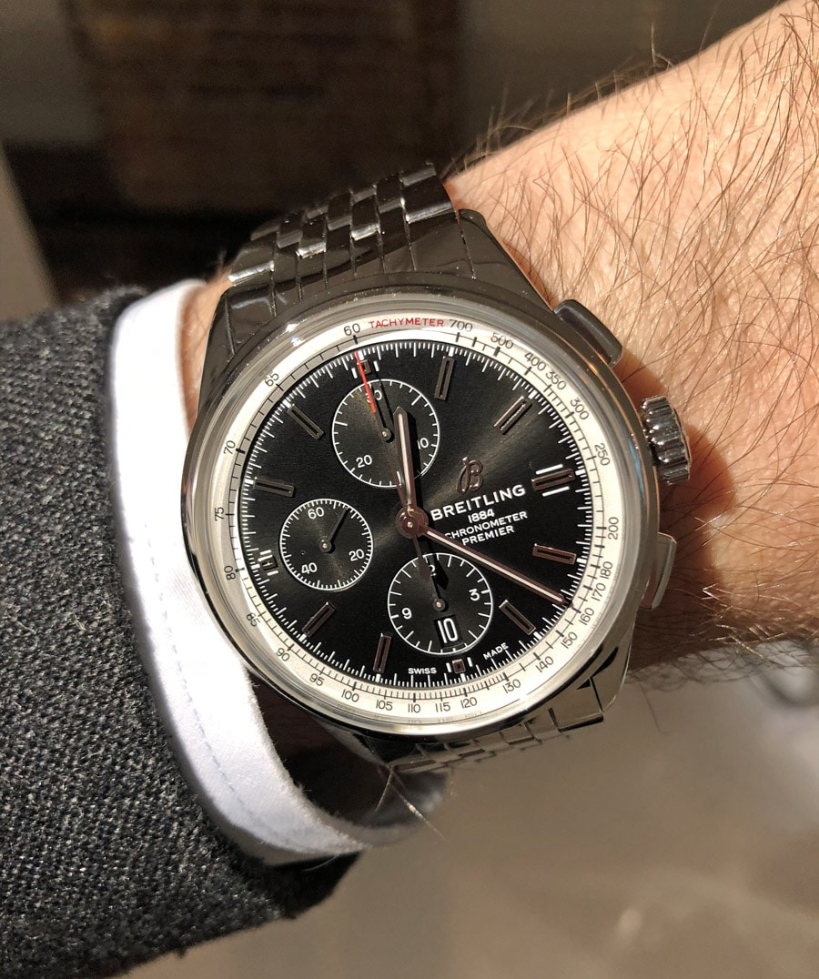 Breitling Premier Chronograph 42 Wristshot