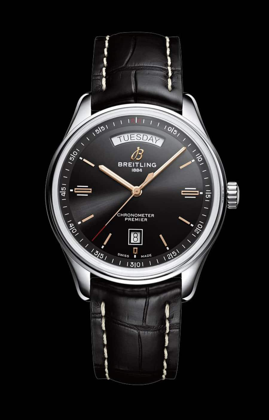 Breitling: Premier Automatic Day & Date 40