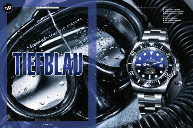 Getestet: die neue Rolex Deepsea mit D-blue-Zifferblatt
