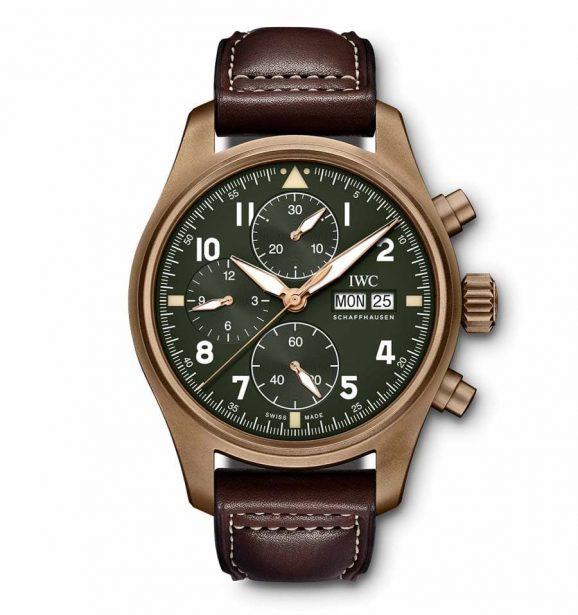 IWC: Pilot's Watch Chronograph Spitfire in Bronze, 6.900 Euro