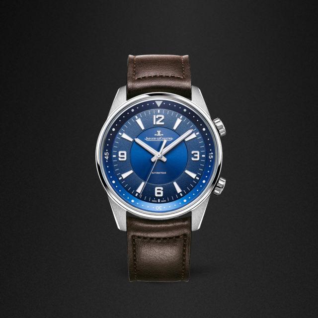 Jaeger-LeCoultre: Polaris Automatik mit blauem Zifferblatt
