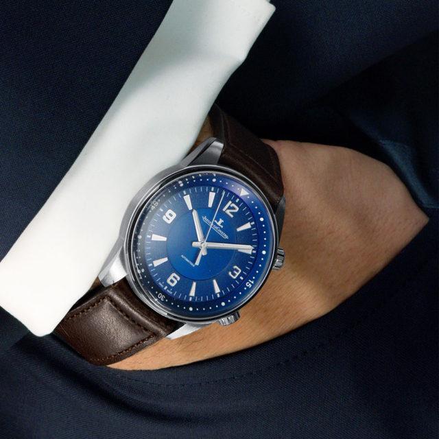 Jaeger-LeCoultre: Polaris Automatik, blau Wristshot
