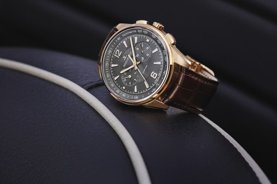 Jaeger-LeCoultre: Polaris Chronograph in Rotgold