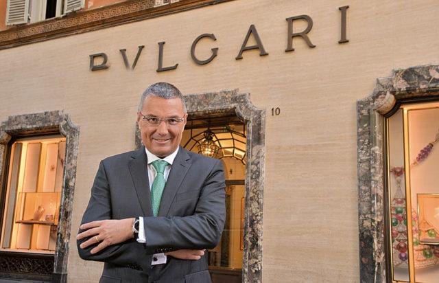 Jean Christophe Babin, der CEO von Bulgari