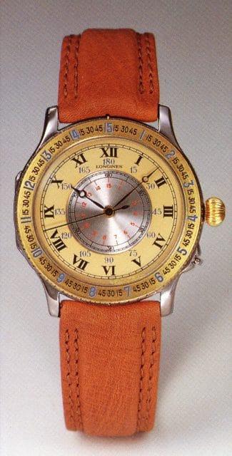 Die Longines Stundenwinkeluhr in Gelbgold von 1987