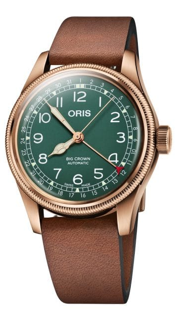 Oris: Big Crown Pointer Date 80th Anniversary Edition