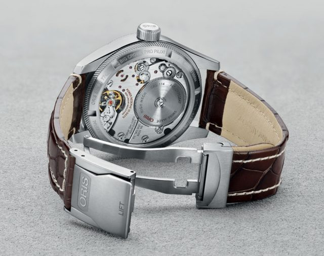 Oris: Das Manufakturkaliber 114 in der Big Crown Propilot Calibre 114