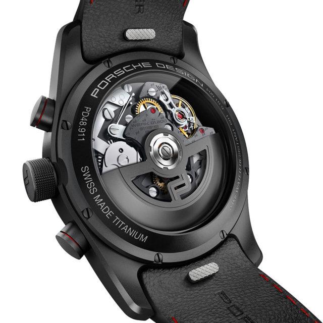 Porsche Design: Chronotimer Flyback Special Edition Rückseite
