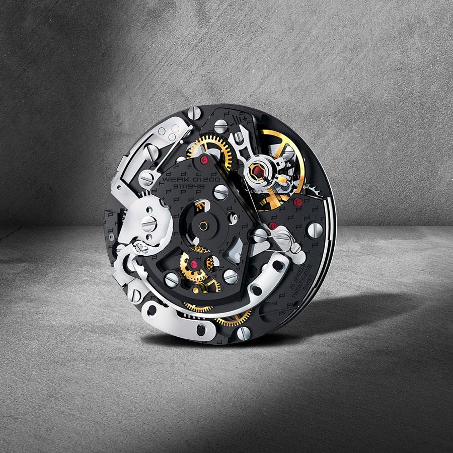 Porsche Design: Chronotimer Flyback Werk