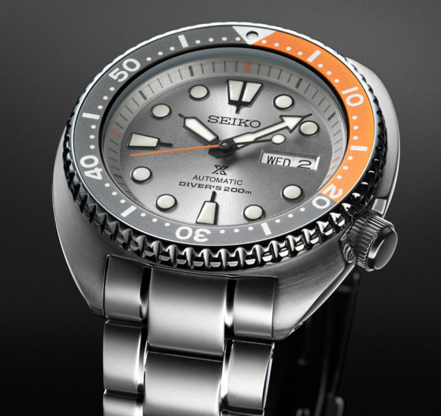 "Seiko: Prospex Automatic Diver's Limited Edition 2018 ""Dawn Grey Series"" Referenz SRPD01K1"