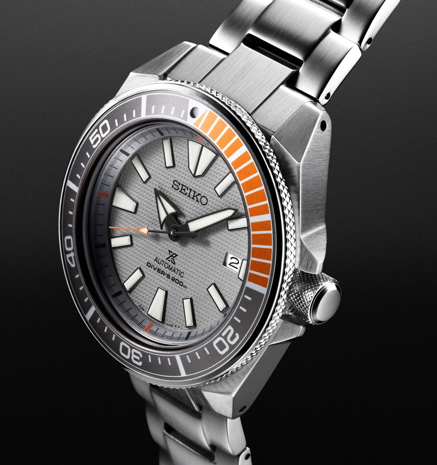 "Seiko: Prospex Automatic Diver's Limited Edition 2018 ""Dawn Grey Series"" Referenz SRPD03K1"