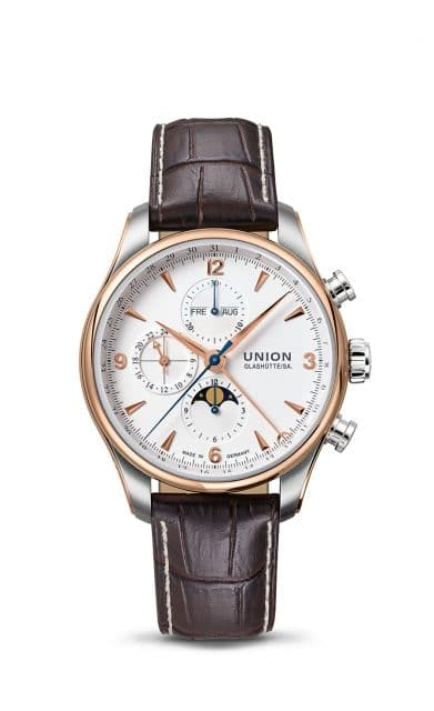 Union-Glashütte: Belisar Chronograph Mondphase