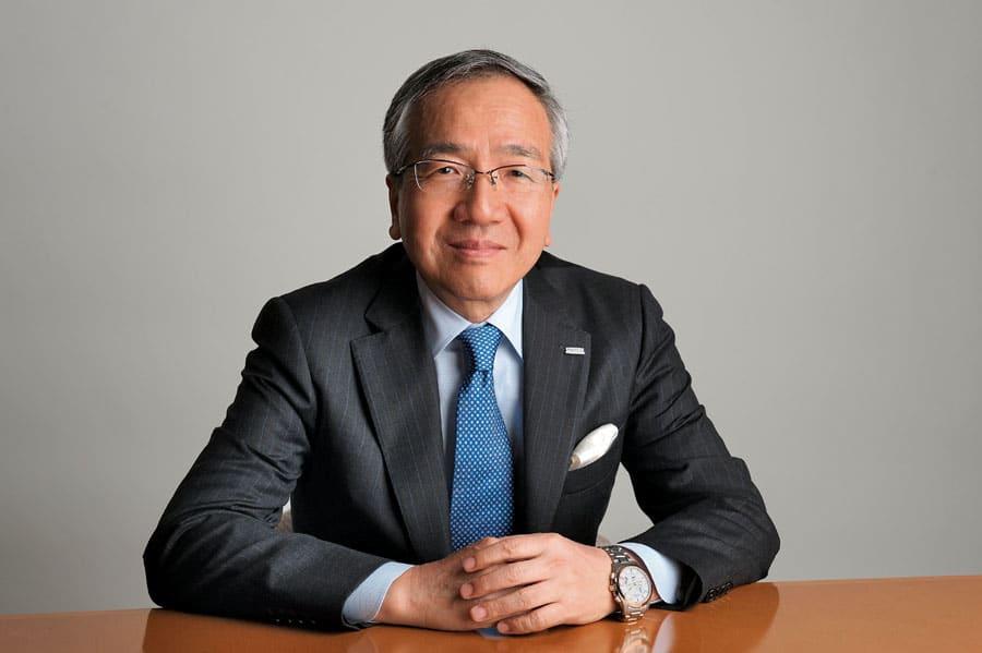 Der heutige Chef: Toshio Tokura ist CEO und Präsident der Citizen Watch Co.