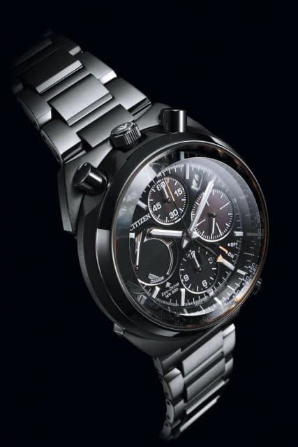 Neue Bullhead-Uhr: Promaster Land Eco-Drive ­Flyback Chronograph (695 Euro)