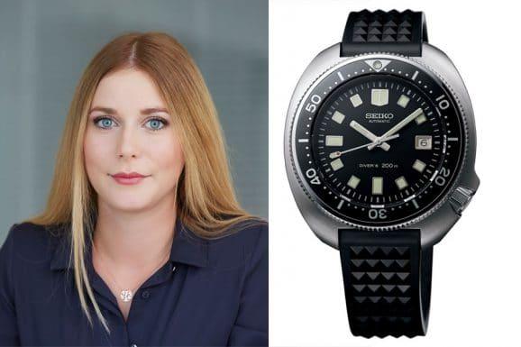 6 robuste Sportuhren: Nadja Ehrlich, Online-Redakteurin Watchtime.net, entscheidet sich für die Seiko Prospex SLA033