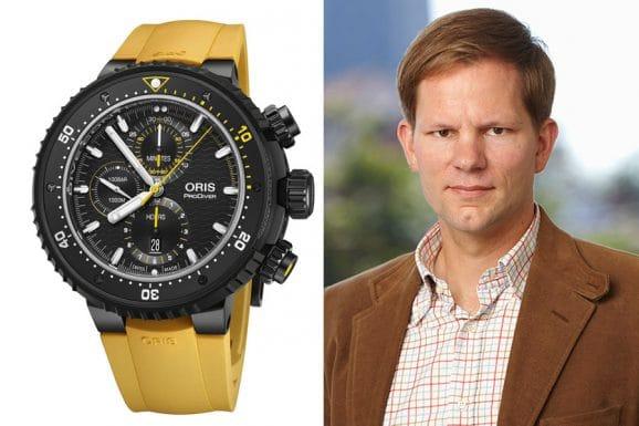 6 robuste Sportuhren: Jens Koch, Redakteur Chronos, ist von der Oris Dive Control Limited Edition überzeugt