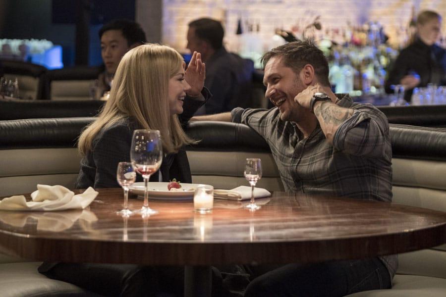 Trägt im Film Bremont: Tom Hardy, hier mit Michelle Williams