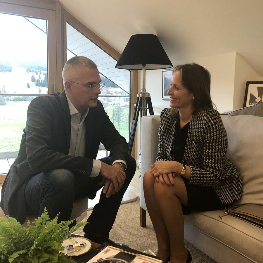 Catherine Rénier im Gespräch mit Rüdiger-Bucher-Interview-2018