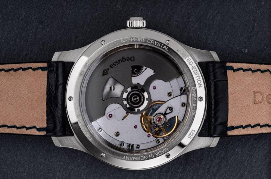 Rückseite der Degussa Limited Edition GMT