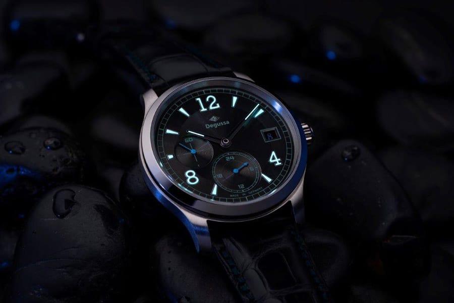 Degussa: Limited Edition GMT bei Nacht