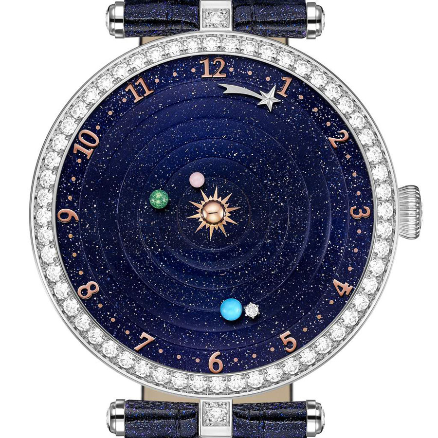 "GPHG 2018: Erster in der Kategorie ""Ladies' Complication Watch"" wird die van Cleef & Arpels Lady Arpels Planétarium"