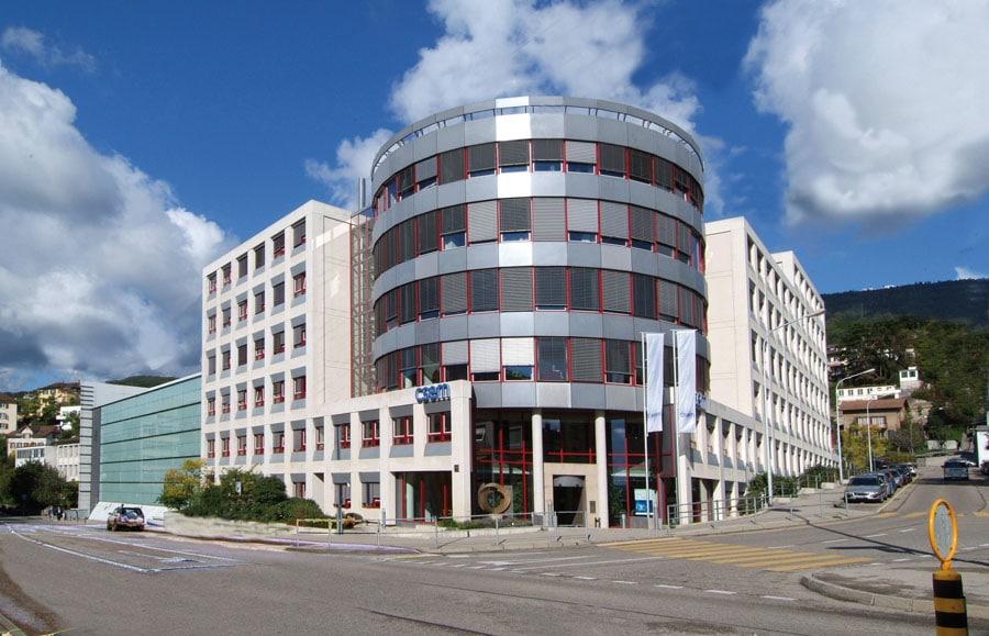 Die Patek Philippe Technologies SA sitzt im Gebäude der CSEM in Neuchâtel
