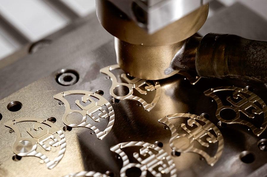 Glashütte Original ganz original: Streifenschliff aufbringen