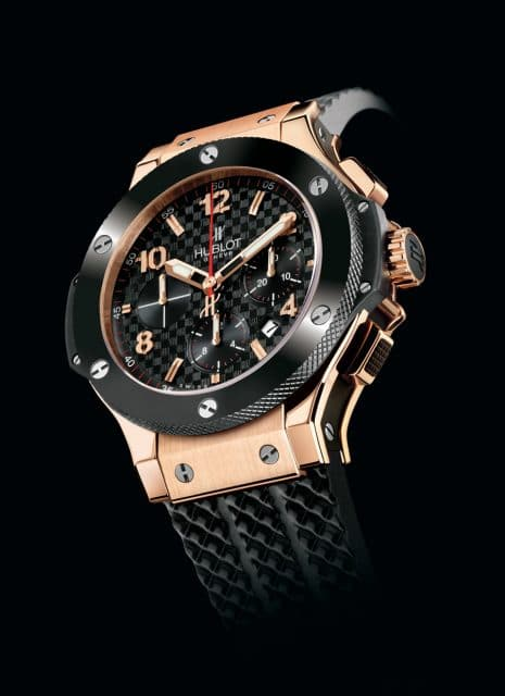 Hublot: Big Bang Red Gold Black Ceramic von 2006