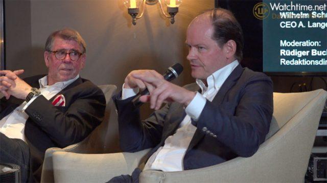Klaus-Dieter Koch bei der Podiumsdiskussion auf der Munichtime 2018