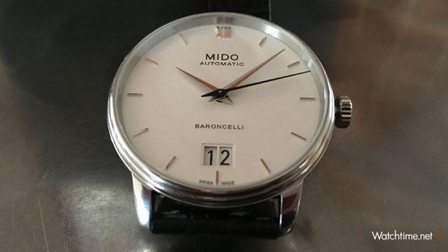Mido: Baroncelli Big Date Zifferblatt
