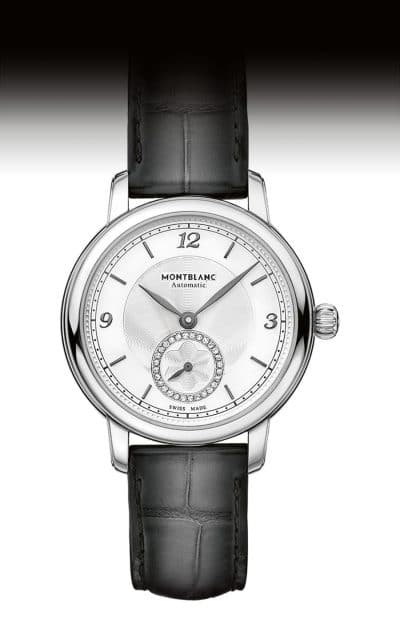 Montblanc: Star Legacy Small Seconds mit Diamanten