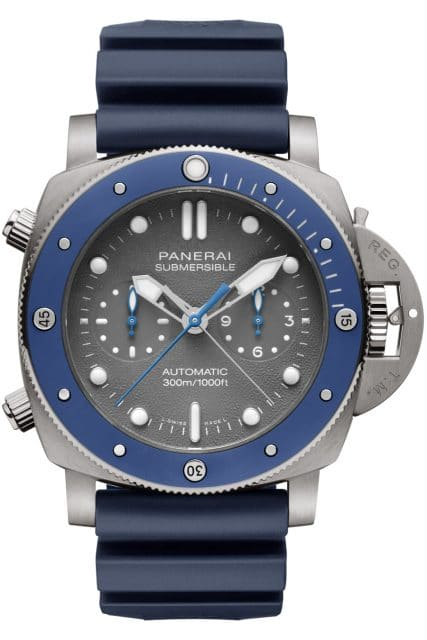 Panerai: Submersible Chrono Guillaume Néry Edition - PAM00982