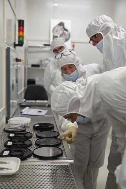 Patek Philippe: Im Reinraum bei der Produktion der Siliziumspiralen
