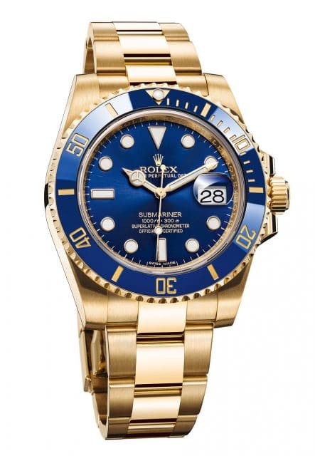 Rolex Oyster Perpetual Submariner Date. Referenz 116618LB