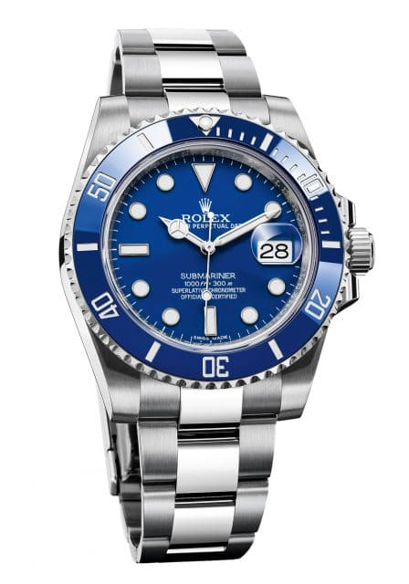 Rolex Oyster Perpetual Submariner Date. Referenz 116619LB