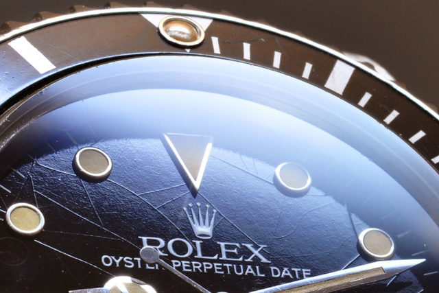"Rolex-Zifferblatt ""Spiderweb"""