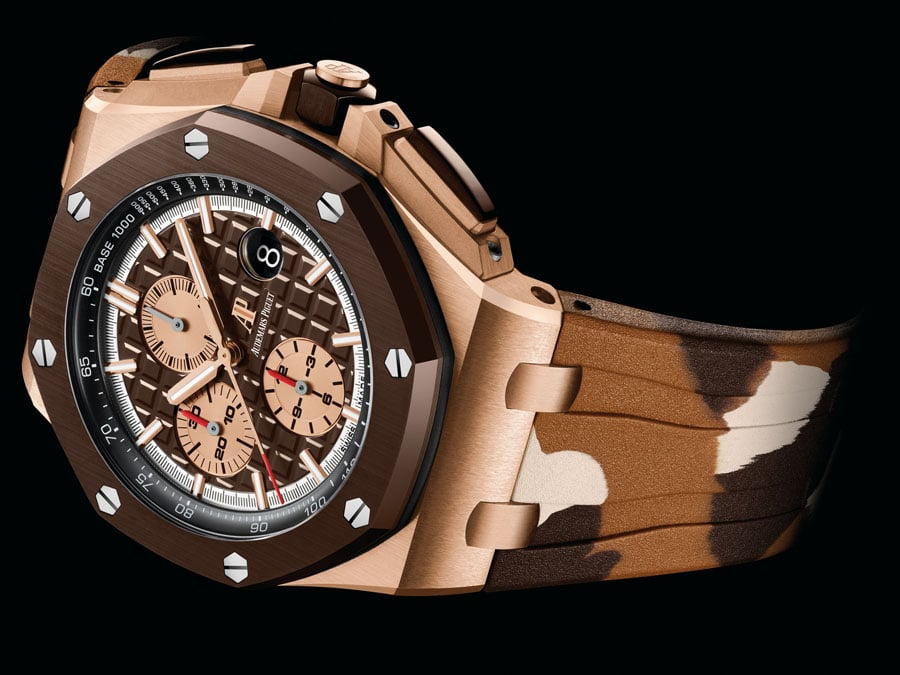 Audemars Piguet: Royal Oak Offshore Chronograph Automatik in Roségold