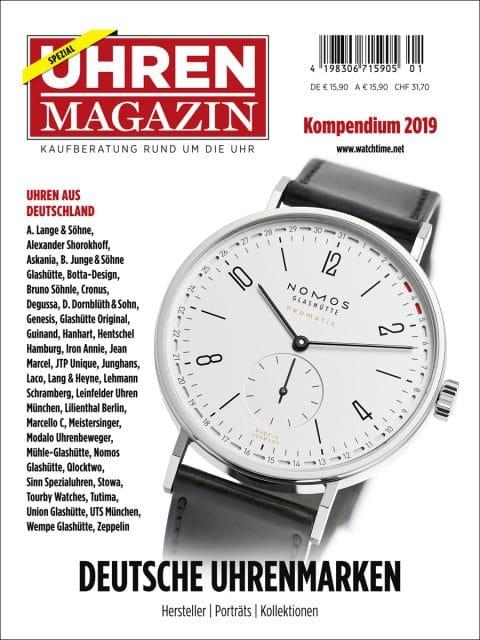 UHREN-MAGAZIN-Kompendium Deutsche Uhrenmarken 2019