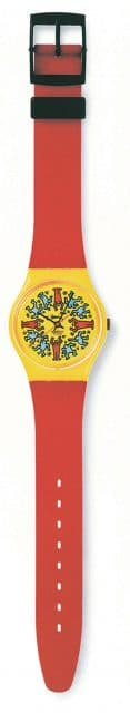 Swatch: Art Special by Keith Haring von 1986