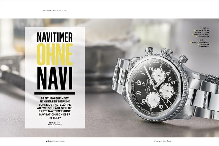 Die neue Breitling schon jetzt im Chronos-Test: Navitimer 8 B01 Chronograph 43