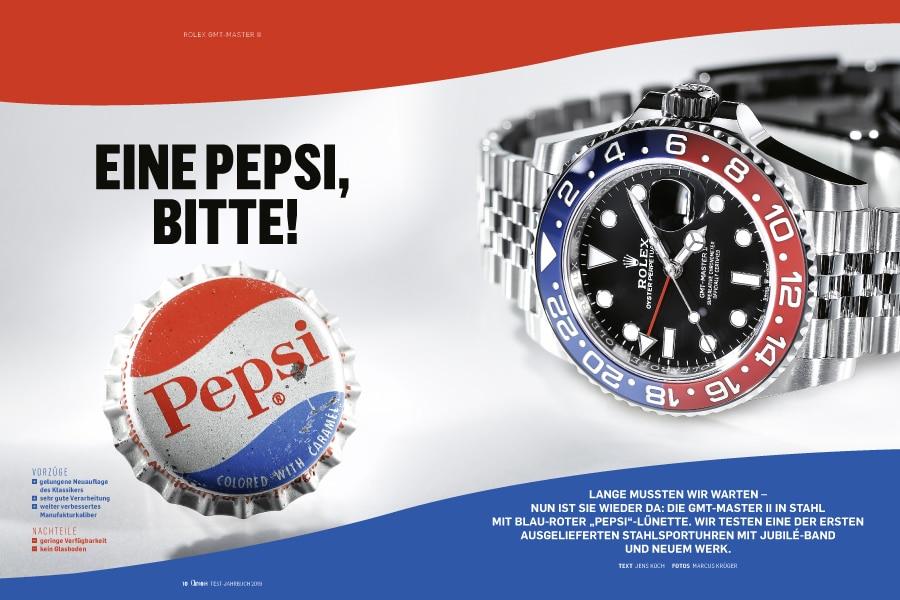 """Chronos hat die heiß begehrte Neuheit bereits getestet: Rolex GMT-Master II """"Pepsi"""""""