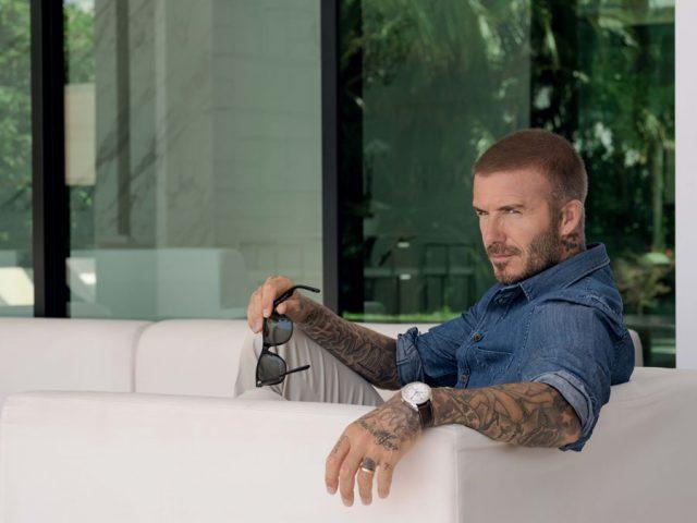 Tudor-Markenbotschafter David Beckham ist auch das Gesicht der neuen Glamour Double Date