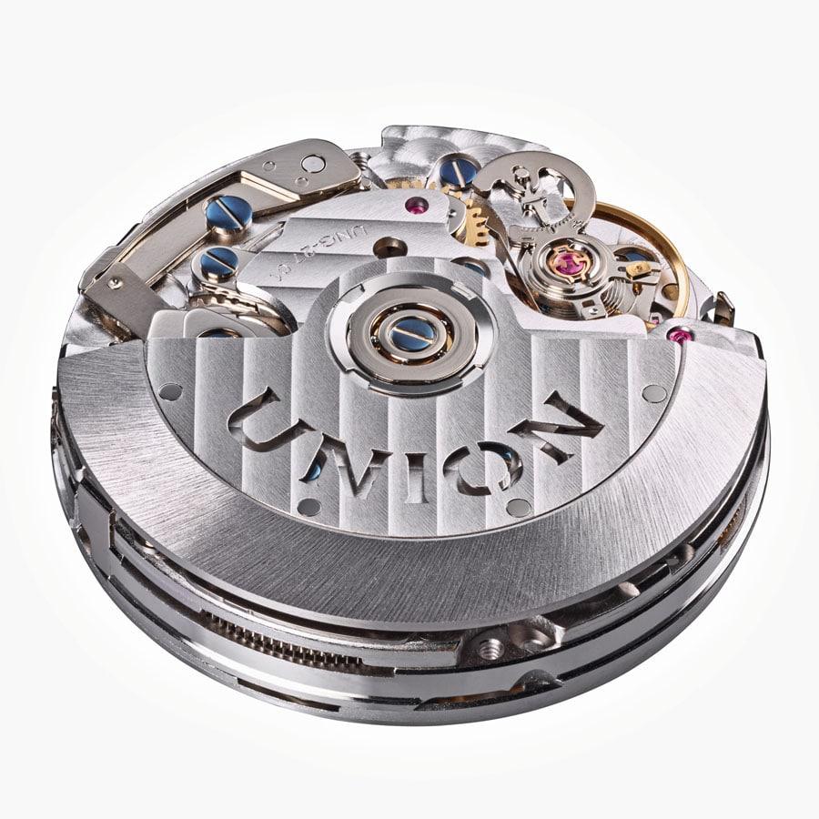 Verbessertes Uhrwerk auf Valjoux-Basis: das Kaliber UNG-27.01 mit 60 Stunden Gangautonomie