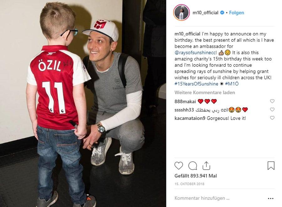 Mesut Özil und Rolex