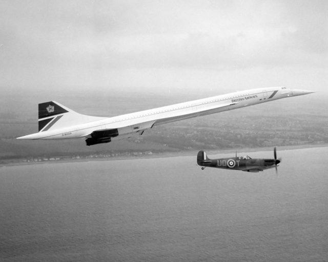 Sie flog mit doppelter Schallgeschwindigkeit über den Atlantik: die Concorde.