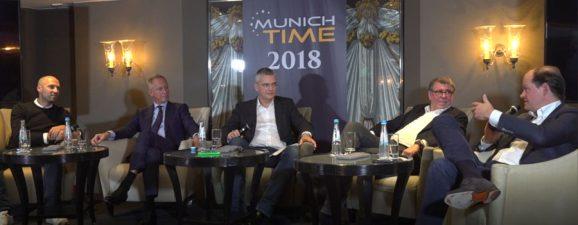 Diskussion über Retrodesign: Simon Husslein, Wilhelm Schmid, Rüdiger Bucher, Gisbert Brunner, Klaus-Dieter Koch